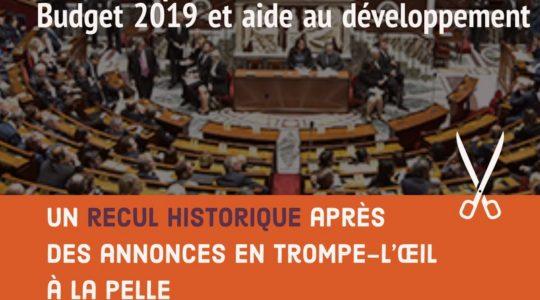 Budget 2019: un recul historique après des annonces en trompe-l'œil à la pelle