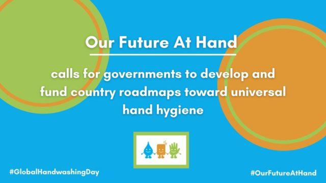 Se laver les mains avec de l'eau et du savon sauve des vies!