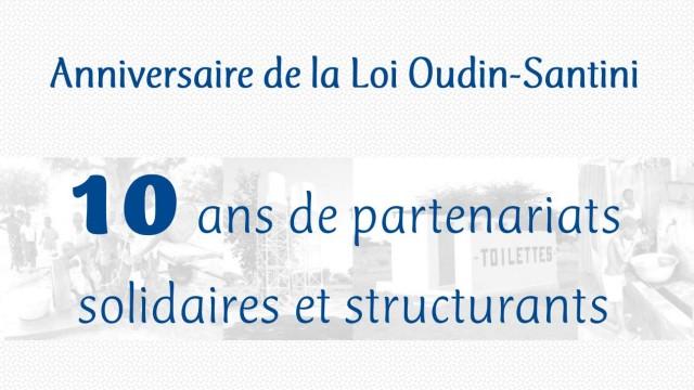 Anniversaire de la loi Oudin-Santini le 17 juin 2015 à Paris