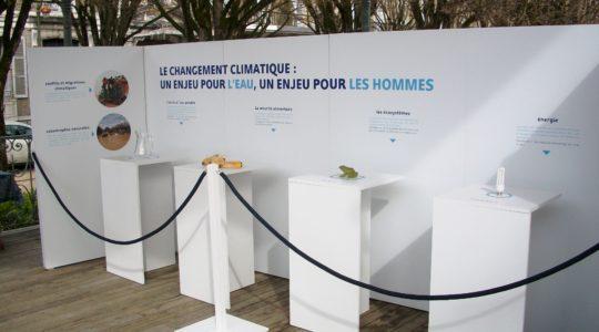 L'exposition«Eau et climat: il est urgent d'agir!» était à Pau