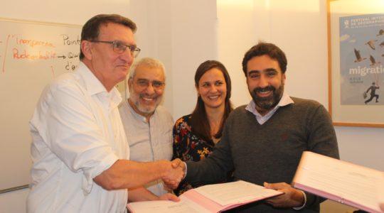 Renouvellement du partenariat entre Coordination Sud et la Coalition Eau