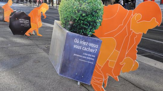 L'exposition«Les toilettes, une question de dignité» était à Saint Etienne