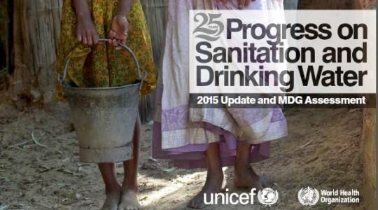 Publication du rapport 2015 sur les progrès en matière d'eau et d'assainissement