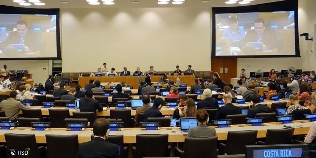 L'Open Working Group propose un Objectif de Développement Durable sur l'eau et l'assainissement