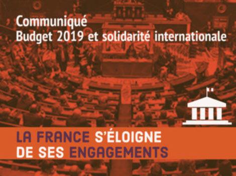 Budget 2019 et solidarité internationale: la France s'éloigne de ses engagements