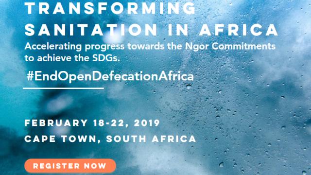L'Afrique accueille une conférence régionale sur l'assainissement du 18 au 22 février 2019