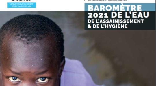 Baromètre 2021 de l'eau, de l'assainissement et de l'hygiène