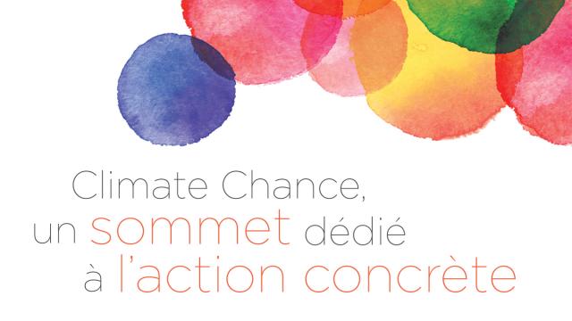 Un Forum«Eau» au Sommet«Climate Chance» (26-28 septembre)