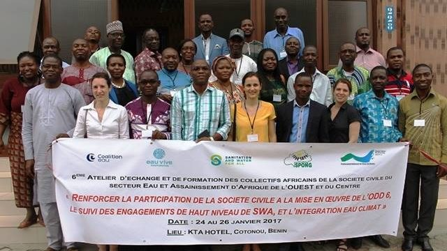 Civil society in West and Central Africa strongly mobilized to guarantee access to water and sanitation for all