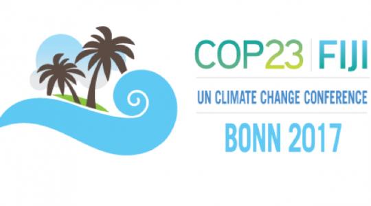 COP23 à Bonn (Allemagne), 6-17 novembre 2017
