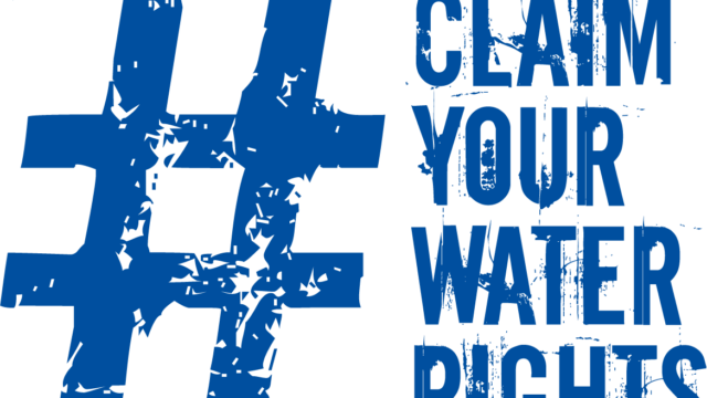 Campagne #ClaimYourWaterRights de End Water Poverty