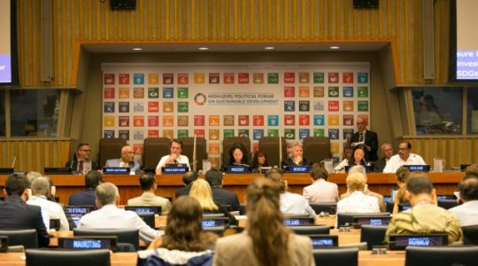 Le Forum Politique de Haut Niveau des Nations Unies pour le Développement Durable a lieu du 9 au 18 juillet 2018
