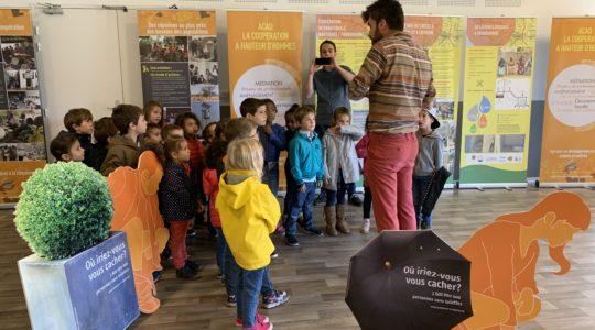 L'exposition«Les toilettes, une question de dignité» était à Martignas sur Jale