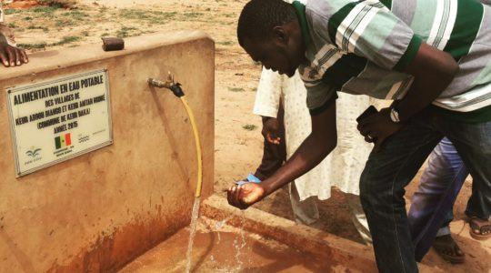 La contribution des ONG françaises à la coopération internationale pour l'eau et l'assainissement