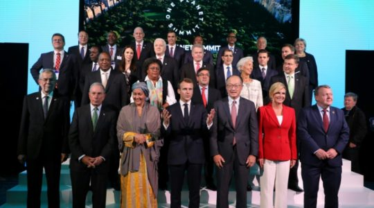 Le One Planet Summit de suivi des engagements, à New-York