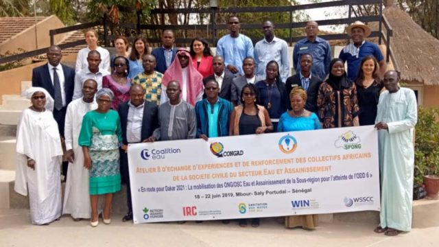 THE « FRANCOPHONE AFRICAN ALLIANCE FOR WATER AND SANITATION » MEETS IN DAKAR TO ACCELERATE THE ACHIEVEMENT OF SDG6