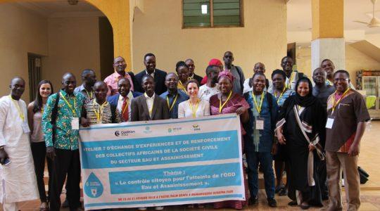 Les collectifs africains se mobilisent pour assurer un contrôle citoyen de la mise en œuvre de l'ODD pour l'eau et l'assainissement
