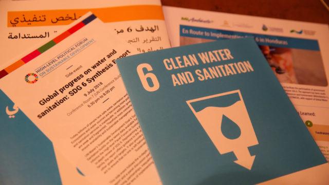 Vue générale sur les débats consacrés à l'ODD 6 (eau) au FPHN