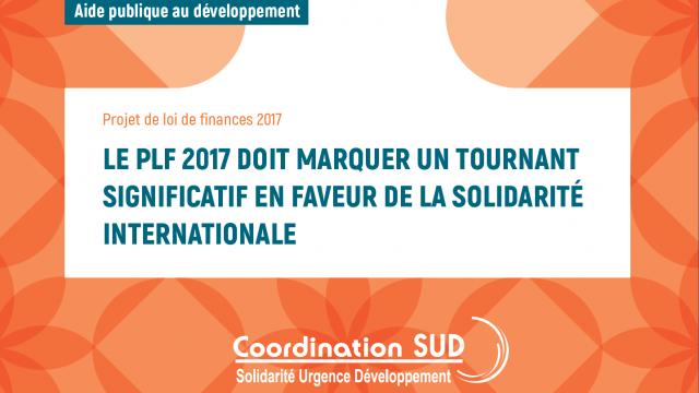 Les demandes de Coordination Sud sur l'Aide Publique au Développement