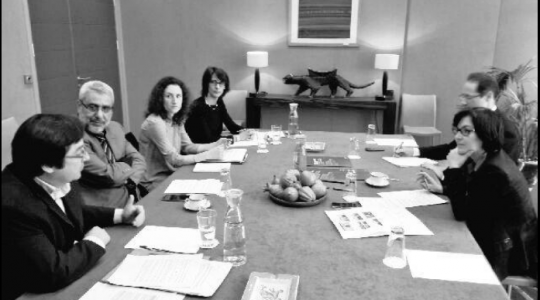 La Coalition Eau a rencontré la Secrétaire d'Etat Annick Girardin