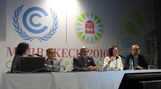 La Coalition Eau était à la COP22 de Marrakech
